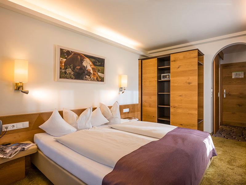 Lieblingsplatz Tirol Doppelzimmer mit Balkon